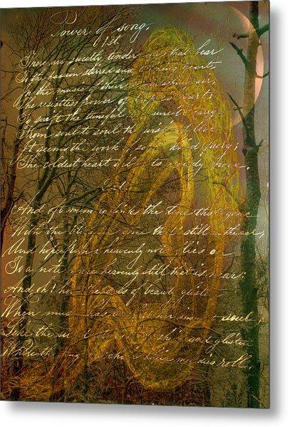 Sunrise Nude Metal Print by Nancy TeWinkel Lauren