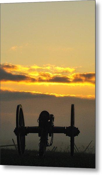 Sunrise On The Battlefield Metal Print
