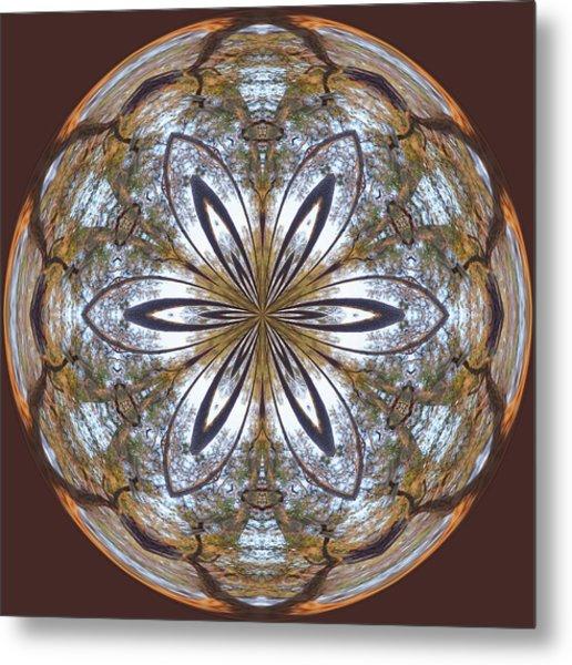 Sunrise Orb Metal Print