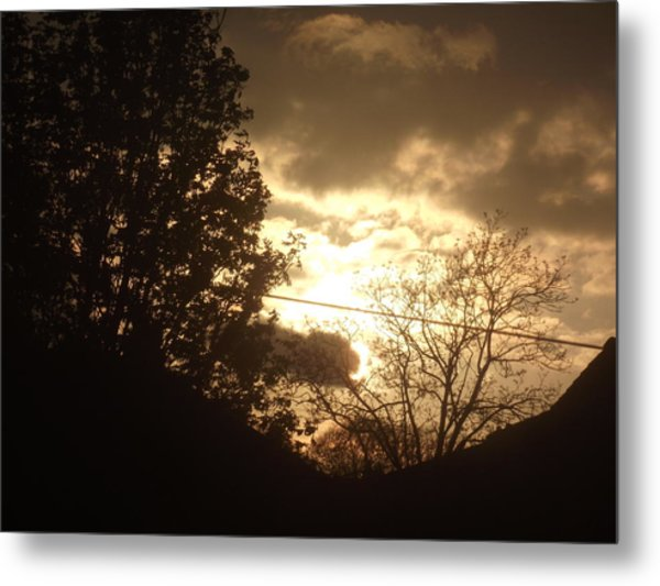 Sunset - April 30 2012 Metal Print