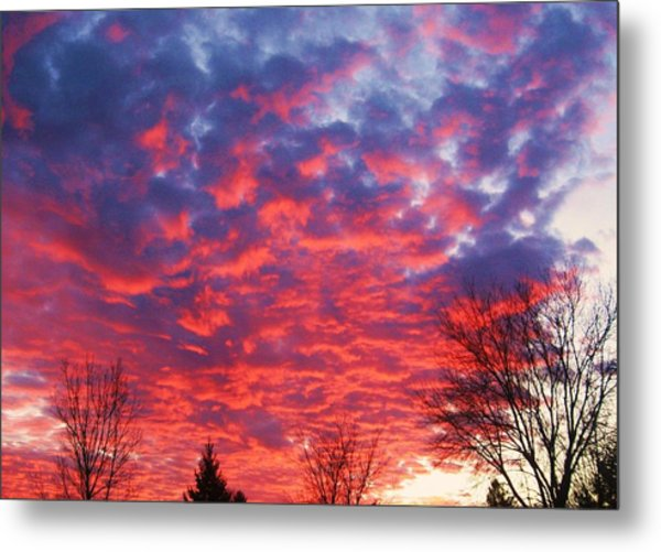Sunset Metal Print by Barron Peterson