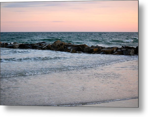 Sunset Colors The Atlantic Sky Metal Print