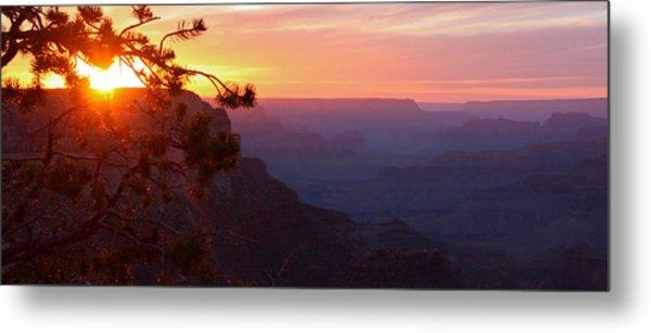 Sunset In Grand Canyon Metal Print by Olga Vlasenko