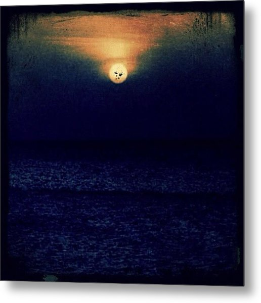 Sunset In The Dominican Republic Metal Print