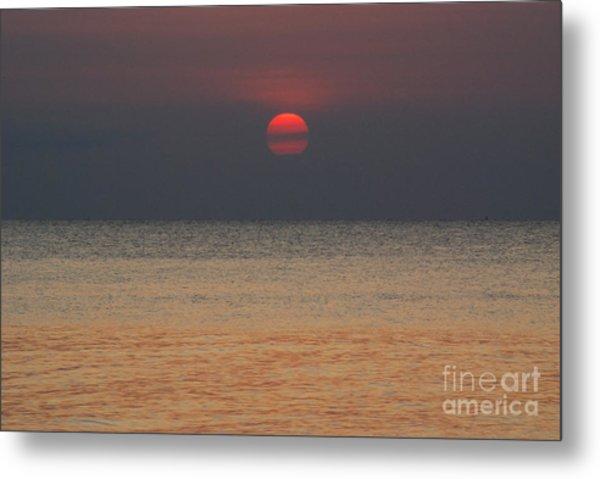 Sunset In Zanzibar Metal Print by Alan Clifford