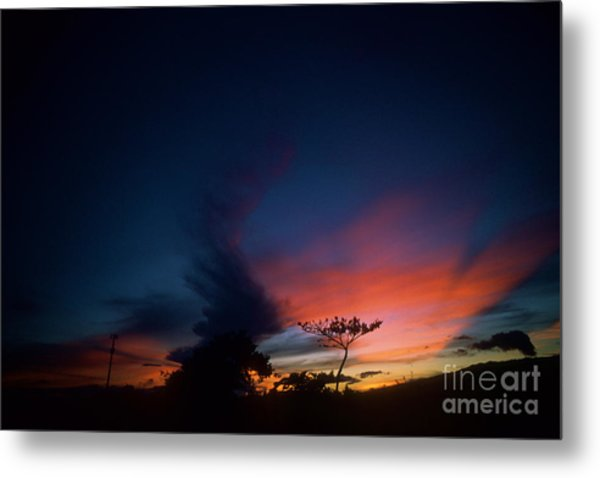 Sunset Leeward Oahu Metal Print