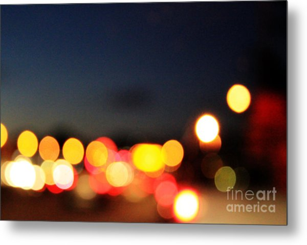 Sunset On The Golden Gate Bridge Metal Print