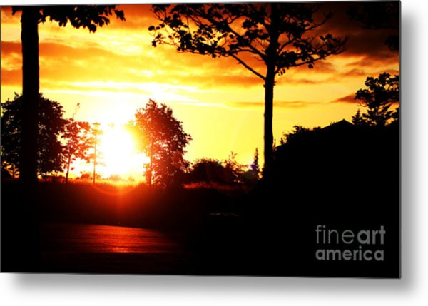 Sunset Soon Metal Print by Alexander Photography