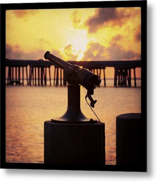 Sunset Sounder Metal Print