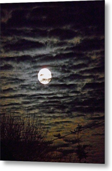 Super Moon 5 Metal Print
