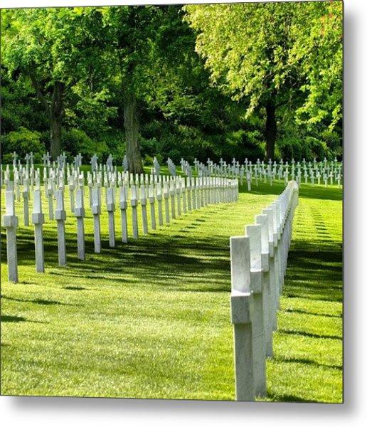 Suresnes - American Military Cemetery Metal Print