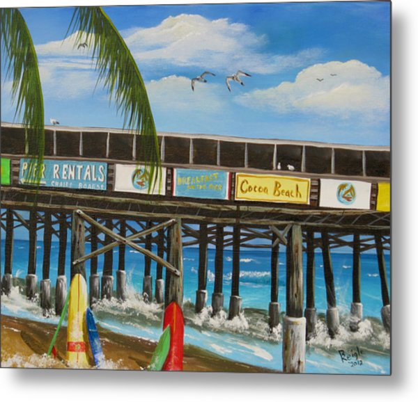 Surfs Up Metal Print by Bruce Reigle