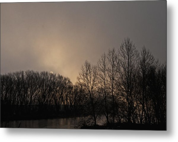 Susquehanna River Sunrise Metal Print