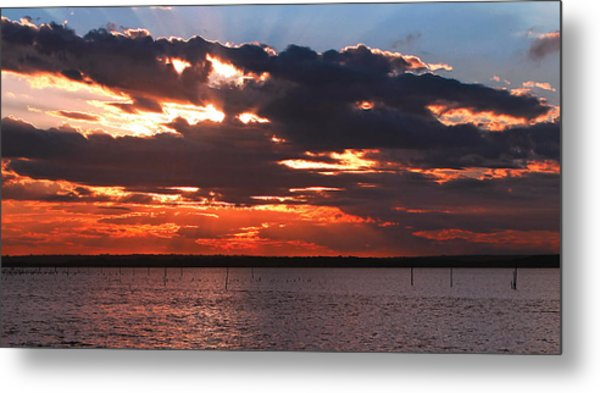 Swan Bay Sunset Metal Print
