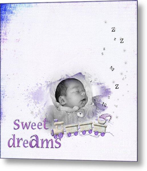 Sweet Dreams Metal Print by Joanne Kocwin
