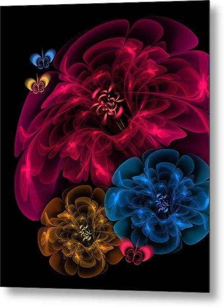 Sweetheart Bouquet Metal Print