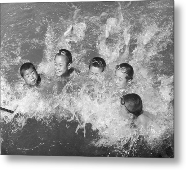 Swim Time Metal Print by Archive Photos