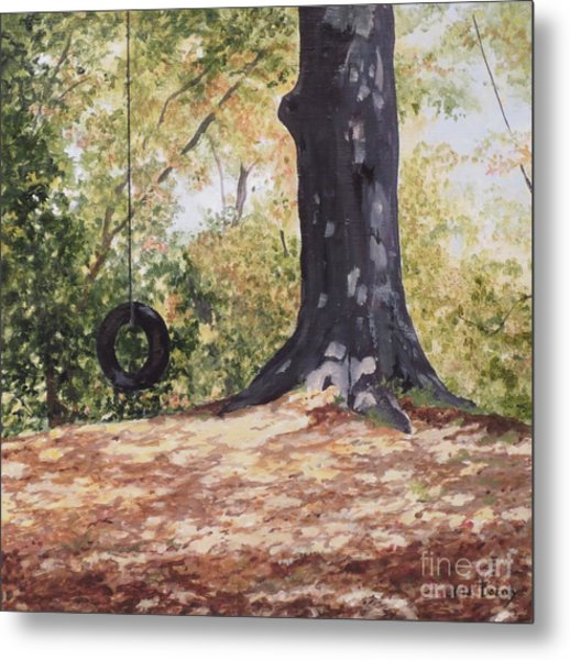 Swing Time Metal Print by Carla Dabney