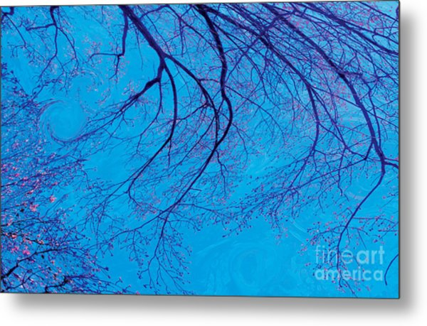 Swirling Spring Winds Metal Print
