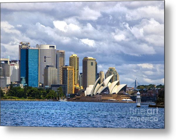 Sydney Harbour One Metal Print by Rick Bragan