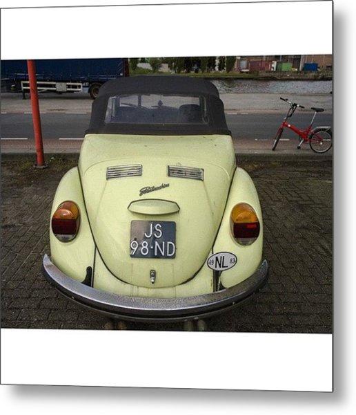 Symmetry #vw #volkswagen #vintage Metal Print