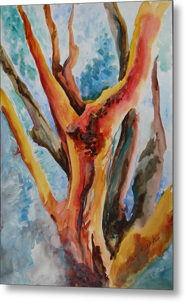 Symphony Of Branches Metal Print