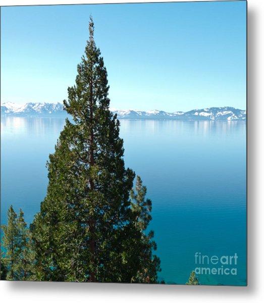Tahoe Tranquility Metal Print