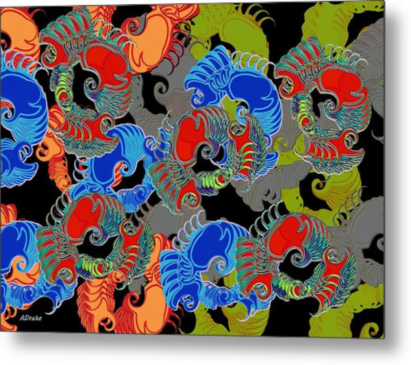 Tainted Shrimp Metal Print