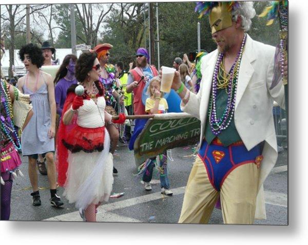 Take Me To The Mardi Gras Metal Print by Rdr Creative