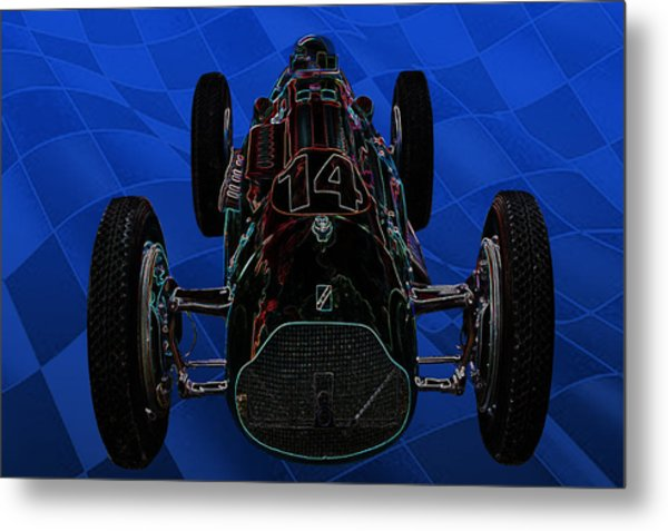 Talbot Lago T26c Body 110054 Metal Print by Mike  Capone