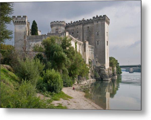 Tarascon Castle On The Rhone Metal Print by Kent Sorensen