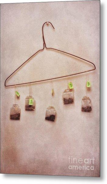 Tea Bags Metal Print