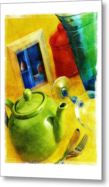 Tea Pot Metal Print