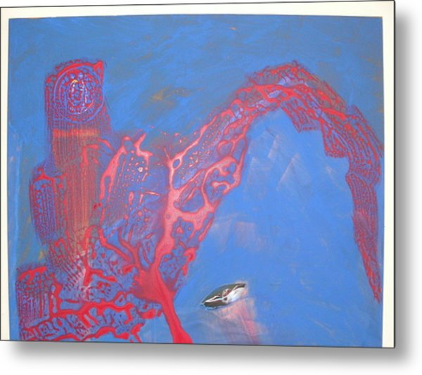 Technology Welcomes The Dreamer Metal Print by Harry  Nash