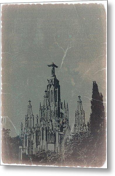 Temple Expiatory Metal Print