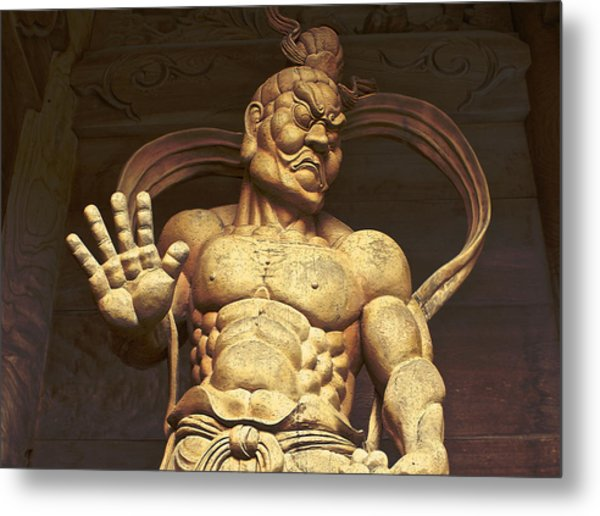 Temple Guardian 2 Metal Print