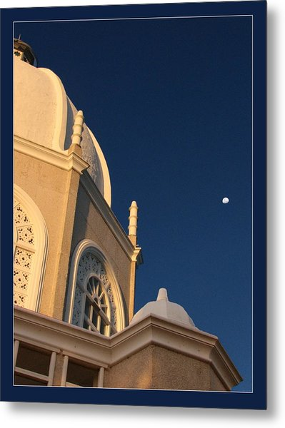 Temple Is Listeneng Metal Print by Alexey Dubrovin