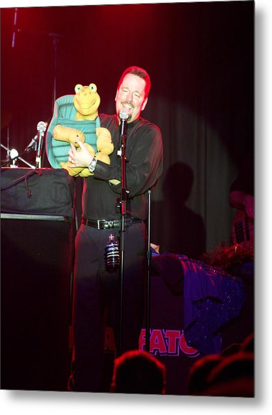 Terry Fator Metal Print by Kenneth Dow