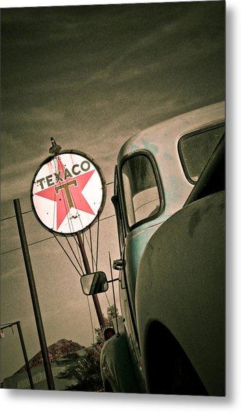 Texaco Metal Print by Merrick Imagery