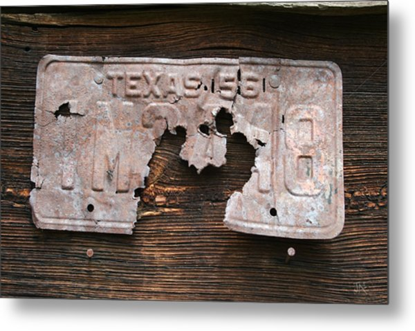 Texas 56 Metal Print