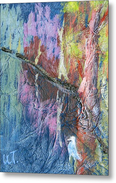 Texture Of Nature 1 Metal Print by Warren Thompson