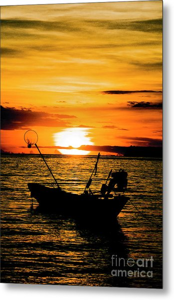 Thai Sunset Metal Print by Inhar Mutiozabal