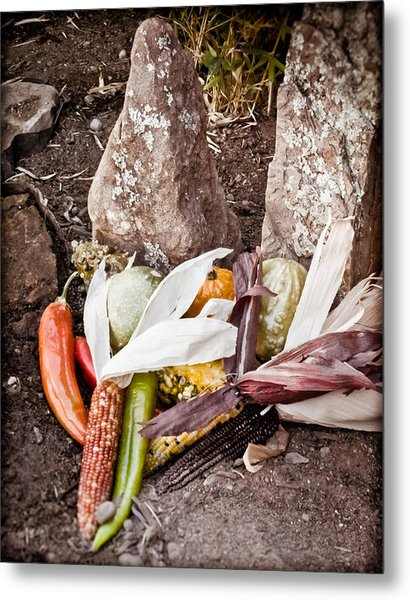 Albuquerque, New Mexico - Thanksgiving Metal Print