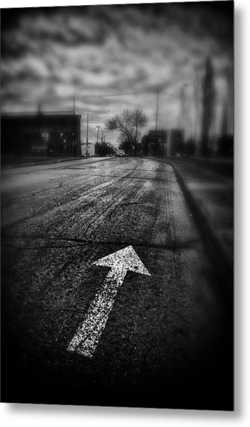That Way  Metal Print by Russell Styles