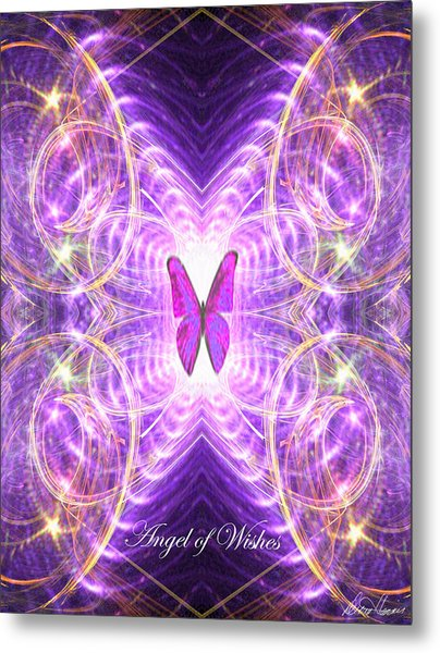 The Angel Of Wishes Metal Print