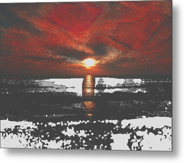 The Angels Are Back I Metal Print