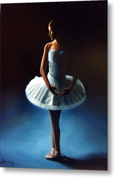 The Ballet Dancer 2 Metal Print by Dimitris Papadakis