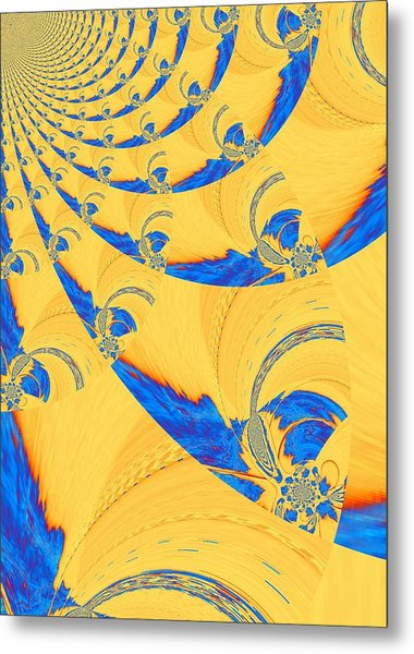 The Bark Of A Thousand Eyes Metal Print by Mary Ann Southern