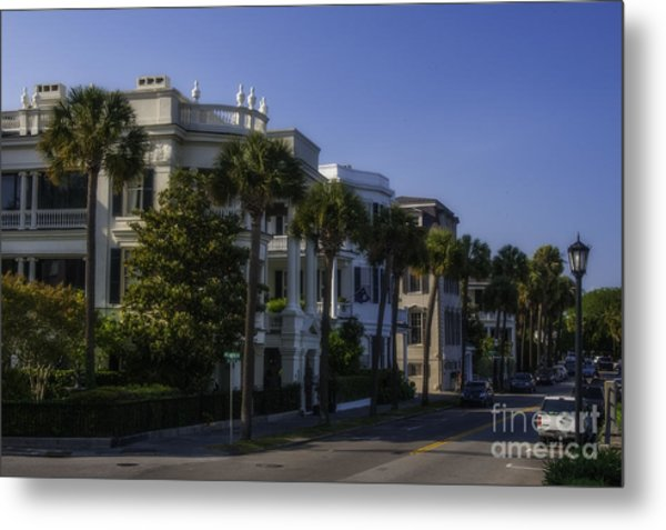 The Battery Charleston Sc Metal Print