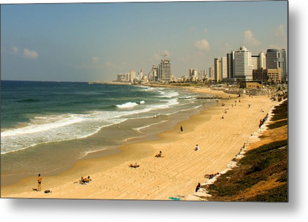 The Beach Metal Print by Amr Miqdadi